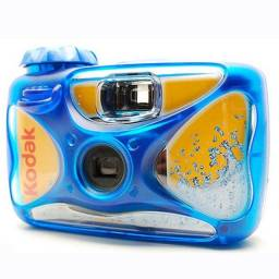 Câmera Analógica: Kodak sport (a prova d?água)