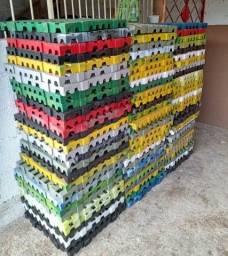 Pallet de plásticos PL 55 50X50X4,5