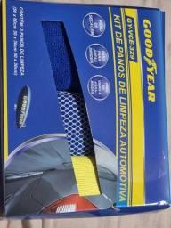 Kit de Panos de Limpeza Automotiva Goodyear VCE-329<br><br>