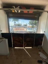 Porta de vidro 10mm completa