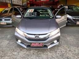 honda city 2015 flex automatico 76000 km completo