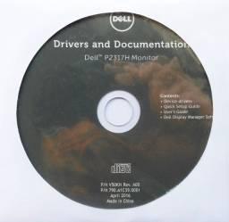 Cd Dell Drivers E Documentação Monitor P2317h