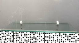 3 Prateleiras de vidro