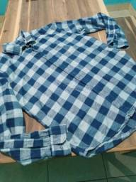 Super promoção! Linda camisa Xadrez Tam M, nunca usada.