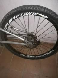 2 aros 27 com pneu