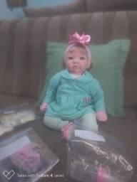 Boneca bebê reborn menina