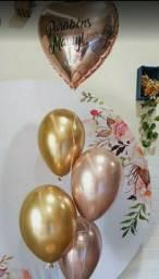 Balões á gás hélio personalizados