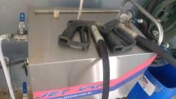 Jet vap máquina a vapor 190°