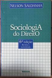 Título do anúncio: Sociologia Do Direito - Nelson Saldanha