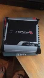 Caixa e módulo hl800 com 1 mês de uso