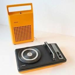 Toca disco antigo Philips gf 133