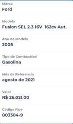 """Título do anúncio: Ford Fusion """"Oportunidade"""""""