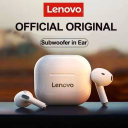 Original Lenovo LP40 tws. Fone de ouvido sem fio Bluetooth 5.0 com redução de ruídos