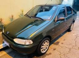 Fiat Siena ELX 1.6 8v completo com 113000km original 1999/2000!
