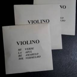 Cordas de Violino Mauro Calixto.