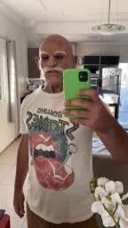 Máscara ultra realista de idoso