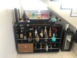 Vendo barzinho/aparador/ bar em mdf laca preto