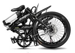 Bicicleta Dobrável Pliage Elétrica 350w Plus Two Dogs Aro 20 Shimano 7v<br><br>