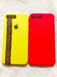 Capas iPhone 8 Plus 2 por 50reais