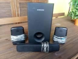 Subwoofer Samsung com 3 Caixas.