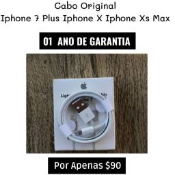 Cabo Iphone Original Apple Lacrado ( Com 01 Ano De Garantia )