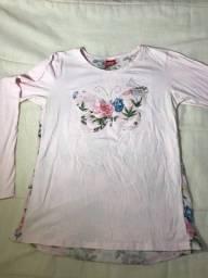 Camiseta manga longa TAM 16