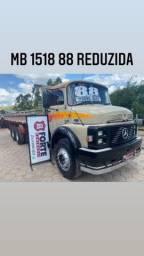 MB 1518 trucado carroceria novíssimo raridade diferenciado