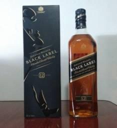Whisky Johnnie Walker Black Label 1L (lacrado e com caixa)