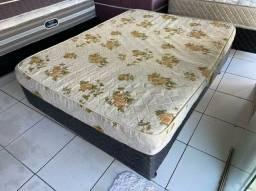 cama box casal - espuma firme