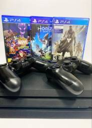 Playstation 4 Pro 1tb Seminovo- Aceito Cartão