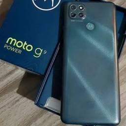 Moto G9 Power 128GB NOVOS Lacrados Aceito Cartão