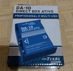 Direct box ativo profissional + cabo xrl