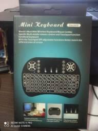 Mini teclado sem fio novo lacrado