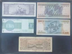 Cédulas diversas 50 reais lote 4