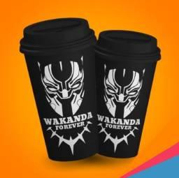 Copo Bucks Pantera Negra (Wakanda Forever)