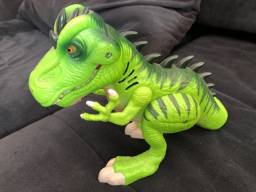 Dinossauro que ao abaixar a cabeça dele faz barulho