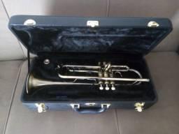 trompete escovando