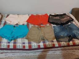 Vendo 6 Shorts de marca juntos
