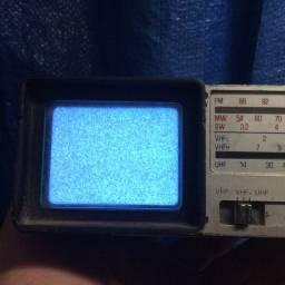 Mini tv antiga broksonic