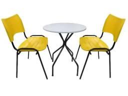 Mesas e cadeiras para sorveteria , bares, restaurantes , são de festa- direto da fabrica