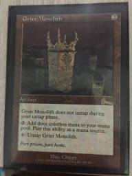 Carta rara Magic - Grim Monolith