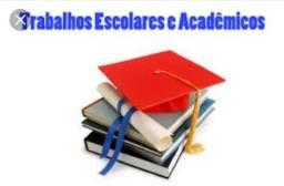 Trabalhos escolares e acadêmicos