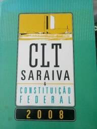 Livro CLT Saraiva e Constituicao Federal 2008