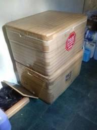 Caixa de isopor 140 Litros