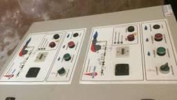 Queimadores gás Riello R40 completos painel e válvulas