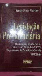 Livro - Legislação previdenciária