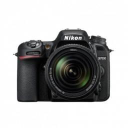 Camera Nikon D7500 kit 18-140mm nova na caixa 0km em P.Alegre-rs