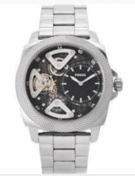 668c74d2ac0 Relogio Fossil Automático - Metalic Bq 2209 Silver - Tobe Watch for Men