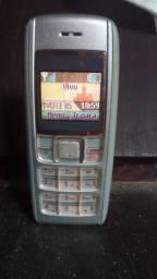 Nokia Antigo 1600 (fala as horas)
