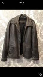 Jaqueta de couro Guess original
